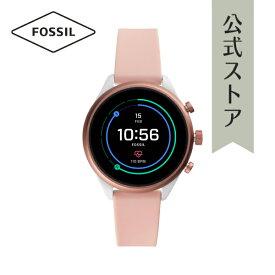 15%OFF フォッシル スマートウォッチ タッチスクリーン 腕時計 レディース Fossil 時計 Sport Smartwatch FTW6022 41mm 公式 2年 保証