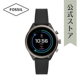 【増税前クーポン発行中!15日〜30日まで】フォッシル タッチスクリーン スマートウォッチ 公式 2年保証 Fossil Sport Smartwatch 腕時計 レディース FTW6024 41mm