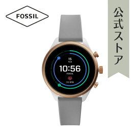 【増税前クーポン発行中!15日〜30日まで】フォッシル タッチスクリーン スマートウォッチ 公式 2年保証 Fossil Sport Smartwatch 腕時計 レディース FTW6025 41mm