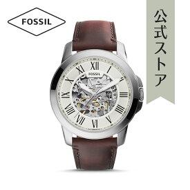 フォッシル 腕時計 メンズ 自動巻き Fossil 時計 グラント オートマチック ME3099 GRANT AUTOMATIC 公式 2年 保証