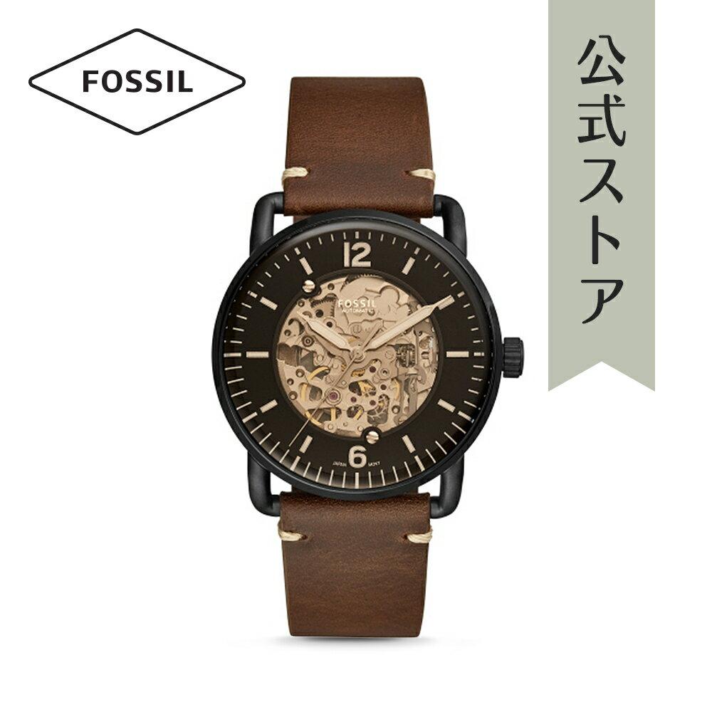 今すぐ使える5%OFFクーポン配布中!2018 秋の新作 フォッシル 腕時計 公式 2年 保証 Fossil メンズ ザ・コミューター オート THE COMMUTER AUTO ME3158