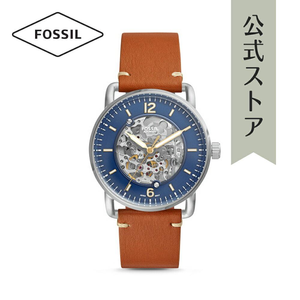 今すぐ使える5%OFFクーポン配布中!2018 秋の新作 フォッシル 腕時計 公式 2年 保証 Fossil メンズ ザ・コミューター オート THE COMMUTER AUTO ME3159
