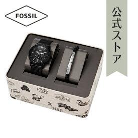 2021 夏の新作 フォッシル 腕時計 アナログ ブラック メンズ FOSSIL 時計 FS5786SET NEUTRA CHRONO ニュートラ クロノ 公式 2年 保証