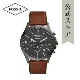 2021 春の新作 フォッシル 腕時計 アナログ メンズ FOSSIL 時計 ブラウン FS5815 FORRESTER CHRONO フォレスタークロノ 公式 2年 保証