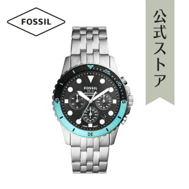 2021 夏の新作 フォッシル 腕時計 アナログ シルバー メンズ FOSSIL 時計 FS5827 FB-01 CHRONO FB-01 公式 2年 保証