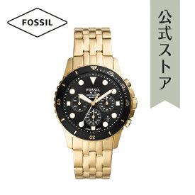 2021 夏の新作 フォッシル 腕時計 アナログ ゴールド メンズ FOSSIL 時計 FS5836 FB-01 CHRONO FB-01 公式 2年 保証