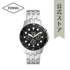 2021 夏の新作 フォッシル 腕時計 アナログ シルバー メンズ FOSSIL 時計 FS5837 FB-01 CHRONO FB-01 公式 2年 保証