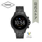2020春の新作フォッシルスマートウォッチハイブリッドHRメンズ腕時計FOSSIL時計ギャレットFTW4038GARRETTHRSMARTWATCH公式2年保証