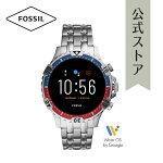 2020春の新作フォッシルスマートウォッチハイブリッドHRメンズ腕時計FOSSIL時計ギャレットFTW4040GARRETTHRSMARTWATCH公式2年保証