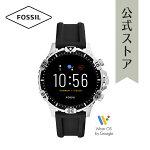 2020春の新作フォッシルスマートウォッチハイブリッドHRメンズ腕時計FOSSIL時計ギャレットFTW4041GARRETTHRSMARTWATCH公式2年保証