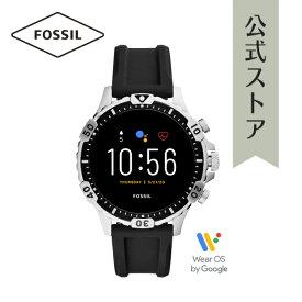 【30%OFF】フォッシル スマートウォッチ タッチスクリーン ジェネレーション5 メンズ 腕時計 FOSSIL 時計 ギャレット FTW4041 GARRETT HR SMARTWATCH 公式 2年 保証