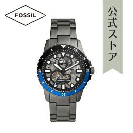 2021 夏の新作 フォッシル 腕時計 アナログ ガンメタル 自動巻き メンズ FOSSIL 時計 ME3201 FB-01 AUTOMATIC FB-01 公式 2年 保証