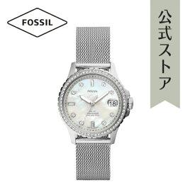 【30%OFF】 フォッシル 腕時計 アナログ シルバー レディース FOSSIL 時計 ES4998 FB-01 公式 2年 保証