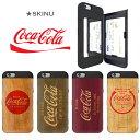 iphone XR ケース コカコーラ カード収納 背面 iphonexs ケース SKINU CocaCola コーク ミラー付き スマホケース iphone x ケース ipho…
