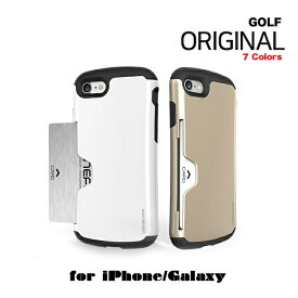 iphone8 ケース カード収納 背面 韓国 PHONEFOAM Golf Original カードケース【送料無料】機種選択 iPhoneXS iphonexs iPhone7ケース iPhone7Plusケース Galaxy S8ケース Galaxy S7 galaxys8+ iPhone8 iPhone8Plus ケース iPhone6s ケース SC-02J SC-02H