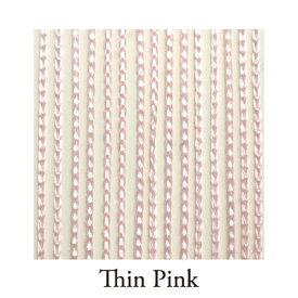 【Venus Select】リリアンカーテンL−006 Thin Pink 防炎加工