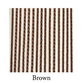 【Venus Select】リリアンカーテンL−009 Brown 防炎加工