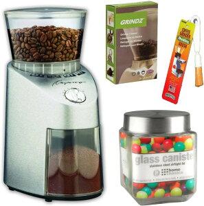 カプレッソ 自動コーヒー豆ミル Capresso 560.04 グラインダー