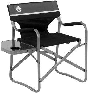 コールマン テーブル付きチェア キャンプチェア Coleman 2000035927 サイドテーブル付き Colemanチェア 椅子 屋外椅子 コール