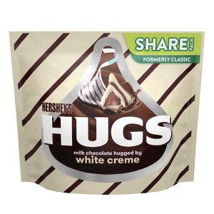 Hershey's Hugs Milk Chocolates hugged by White Creme / ハグ ミルクチョコレート ハグ バイ ホワイトクリーム 300g(10.6oz)