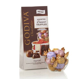Godiva Wrapped Assorted Chocolate Dessert Truffles 7oz 19pc # 78150 / ゴディバ トリュフチョコレート アソート 詰め合わせ