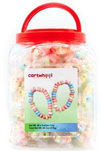 Cartwheel Confections 48 Candy Bracelets / カートウィール コンフェクションズ キャンディ ブレスレット 48個入り(個別包装) お子様のパーティー、誕生日会などのイベントに