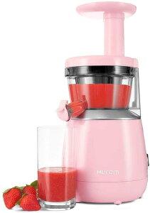 ヒューロム スロージューサー HUROM HP 低速ジューサー 酵素 栄養 野菜 フルーツ ピンク Founderがお届け!