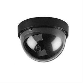 防犯カメラ 屋外 家庭用 ダミー 電源不要 ダミーカメラ 屋外用 ドーム 点滅 本物 2個セット