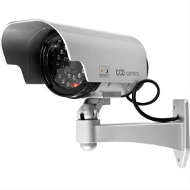 防犯カメラ 屋外 ダミー カメラ 家庭用 ダミーカメラ 屋外用 防犯 LED 点灯 電池式 2個セット