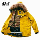 スノーボードウェア ジャケット 単品 ユニセックス 43Degrees N3B type〈セール品の為交換返品不可〉
