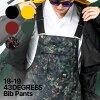Men's 43DEGREES Bib Pant / Snowboard wear / Ski wear / Snow Pants / 2018-2019 model new work