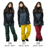 43DEGREES Women's Snowboard Jacket and Bib Pant