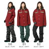43DEGREES Women's Snowboard Jacket and Bib Pant