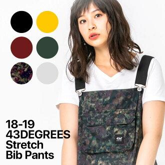 Women's 43DEGREES Bib Pant / Snowboard wear / Ski wear / Snow Pants / 2018-2019 model new work