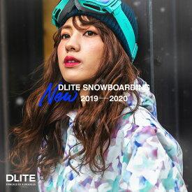 スノーボードウェア レディース スキーウェア 上下 セット DLITE 新作 スノボウェア スノーボード ウェア スノボ ボード ウェア 19-20 送料無料