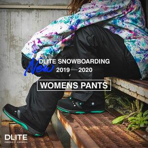 スノーボードウェア レディース パンツ スキーウェア DLITE スノボウェア スノーボード ウエア スノボ ボード 2019-2020モデル 大きいサイズ 旧モデル