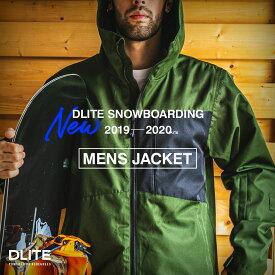 スノーボードウェア メンズ スキーウェア ジャケット単品 DLITE スノボウェア スノーボード ウェア スノボ スノボー ウェア 19-20 新作 モデル