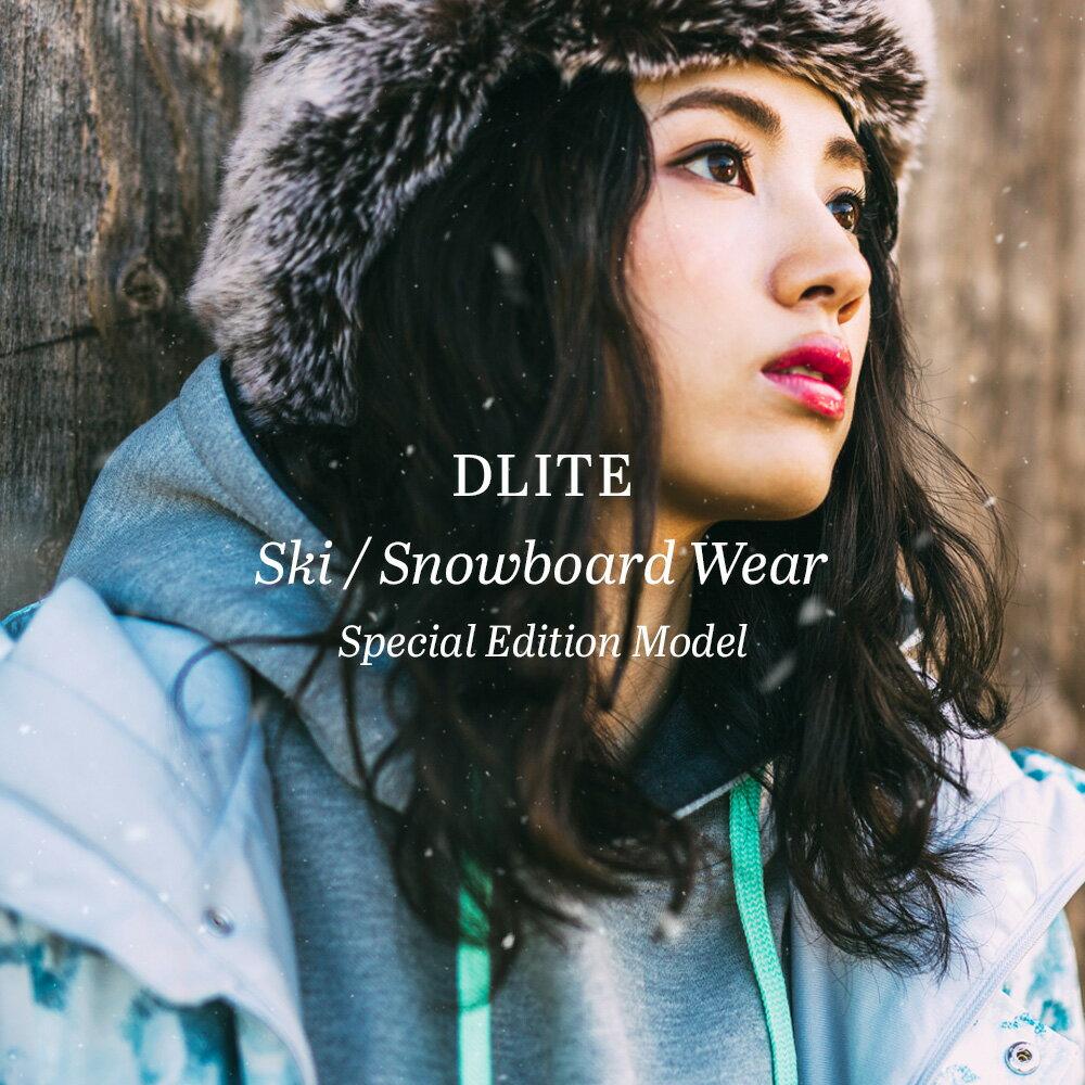 スノーボードウェア レディース 上下 セット スキーウェア DLITE 新作ジャケット+旧品パンツ スノボウェア スノーボード ウェア スノボ スノボー ウェア 大きいサイズ 送料無料