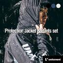 ゴルフ メンズ unitement Protection Jacket & Pants レインウェア 上下 防風性 撥水性 上着 ウインドブレーカー ウィンドブレーカー GOLF ゴルフウェア