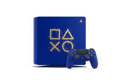 PlayStation4本体DaysofPlayLimitedEdition500GBCUH-2100ABZN【中古】【PS3・PS4本体】【鈴鹿専売品】【059-180712-01SS】