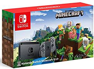 NintendoSwitchMinecraft(マインクラフト)セット【中古】【NintendoSwitch本体】【鈴鹿専売品】【062-181202-01YS】