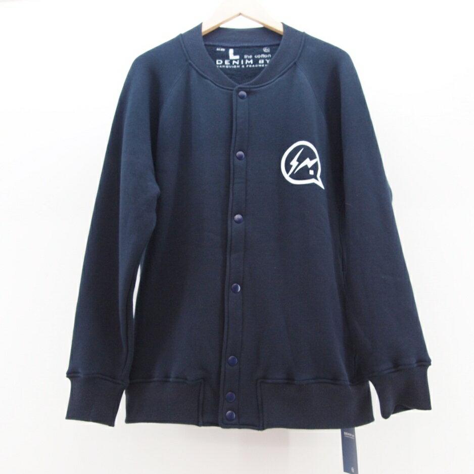 DENIM BY VANQUISH & FRAGMENT (デニムバイヴァンキッシュアンドフラグメント) Sweat Jacket サイズ:L カラー:ネイビー【中古】【DM】【鈴鹿 併売品】【125-171108-03OS】
