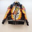 Supreme×VansonLeather (シュプリーム×バンソン) Leather Ghost Rider Jacket サイズ:S カラー:ブラック【中古】【126 スト…