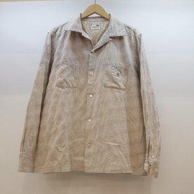 GANGSTERVILLE(ギャングスタ—ビル) オープンカラーシャツ サイズ:L カラー:ベージュ【中古】【127 ルード】【鈴鹿 併売品】【127-190404-03OS】