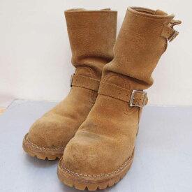 WESCO(ウエスコ) BOSS スウェード エンジニアブーツ サイズ:7.5(25.5cm) カラー:ブラウン【中古】【140 その他靴】【鈴鹿 併売品】【140-200617-05OS】