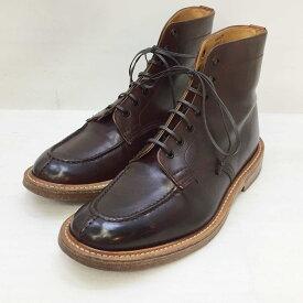 Tricker's (トリッカーズ) レースアップブーツ M6157 サイズ:9.5(28cm) カラー:ブラウン【中古】【140 その他靴】【鈴鹿 併売品】【140-210122-08OS】
