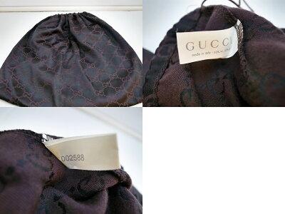 GUCCI(グッチ)インナーGGスエードレザーハンドバッグサイズ:Fカラー:ブラック【中古】【SPブランド】【鈴鹿併売品】【1484393OS】