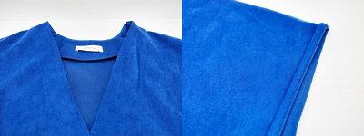 AERON(アーロン)Vネックワンピースサイズ:2カラー:ブルー【中古】【レディーストップス】【鈴鹿併売品】【1324718OS】