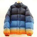 Suprme (シュプリーム) Gradient Puffy Jacket グラデーションダウンジャケット サイズ:M カラー:マルチ【中古】【ストリート】【鈴…
