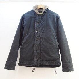 BUZZ RICKSON'S(バズリクソンズ) N-1 デッキジャケット サイズ:36カラー:ブラック【中古】【アメカジ】【鈴鹿 併売品】【128-181108-05OS】